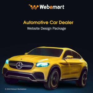 Automotive Car Dealer Website Design Package Webemart Marketplace