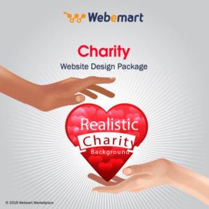 Charity Website Design Package Webemart Marketplace