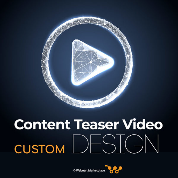 Content Teaser Video Custom Design