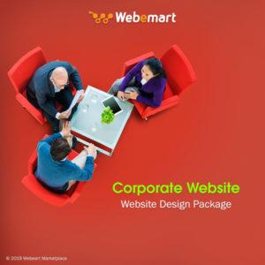 Corporate Website Design Package Webemart Marketplace