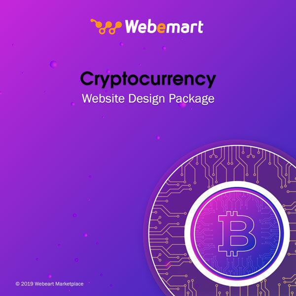Cryptocurrency Website Design Package