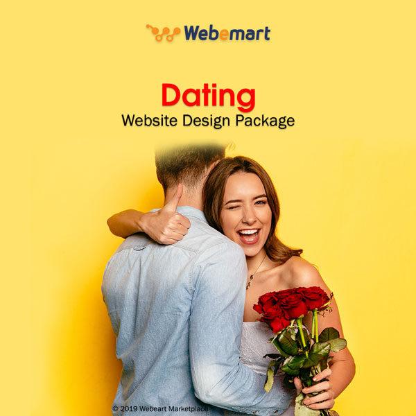 Dating Website Design Package Webemart Marketplace