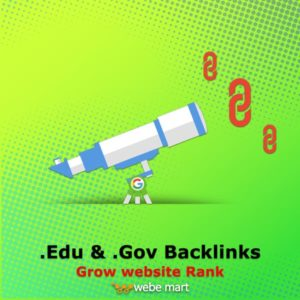 Grow Website Rank with High Authority .Edu Backlinks & .GovBacklinks