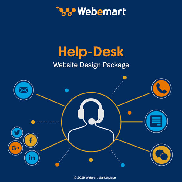 Help-Desk Website Design Package