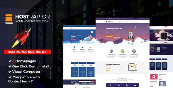 Host Raptor Hosting Domain WordPress