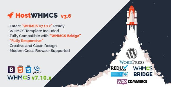 HostWHMCS Responsive Hosting and WHMCS