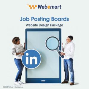 Job Board Website Design Package Webemart Marketplace