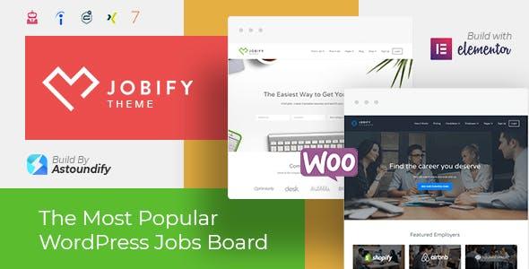 Jobify Job Board WordPress Theme