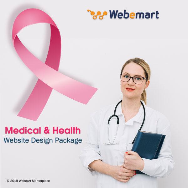 Medical Website Design Package Webemart Marketplace