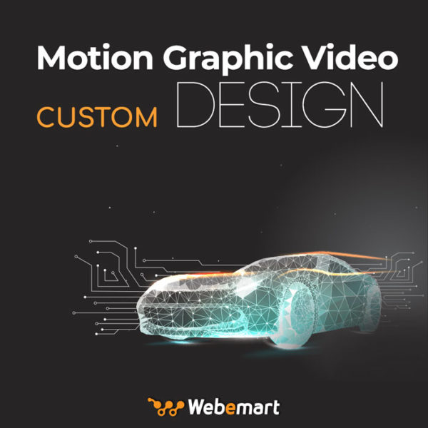 Motion Graphic Video Custom Design