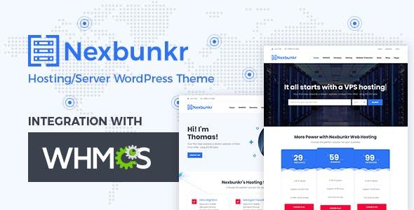 Nexbunker - Hosting/Server WordPress Theme