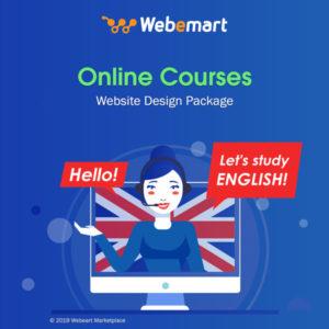 Online Courses Website Design Package Webemart