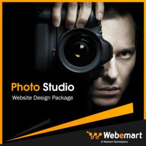 Photo Studio Website Design Package