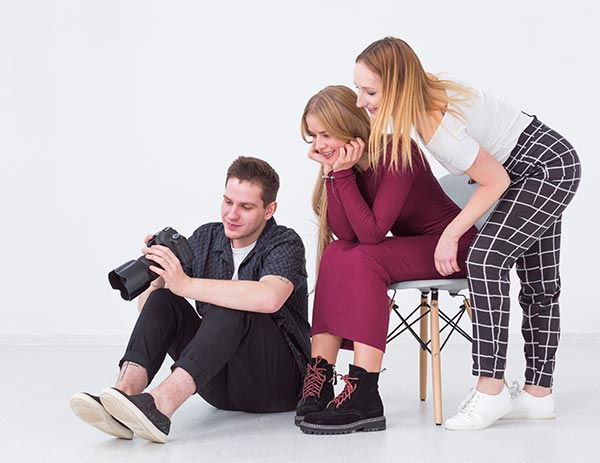 Photo Studio Website Gallery