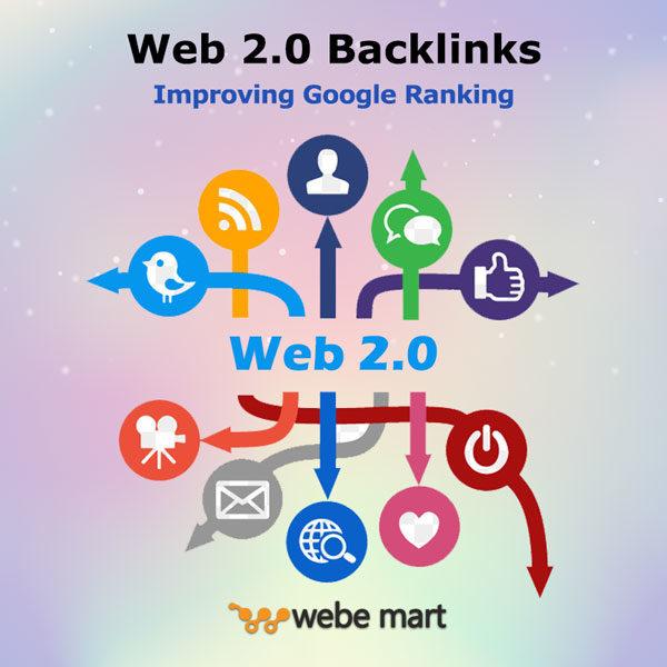Powerful Web 2.0 Backlinks Improving Google Ranking