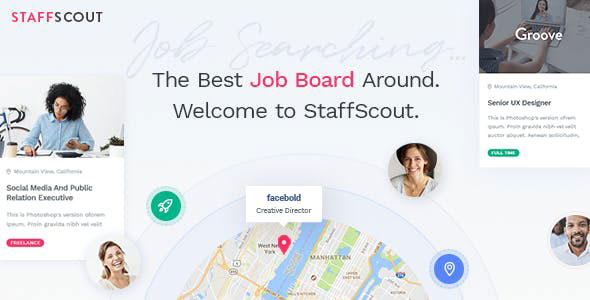 StaffScout Job Board and Employment Theme