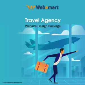 Travel Agency Website Design Package Webemart Marketplace
