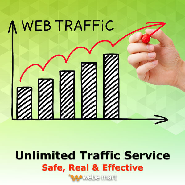 Unlimited Traffic Service (Safe, Real & Effective)