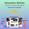 Website Automation Content & Products Premium Package