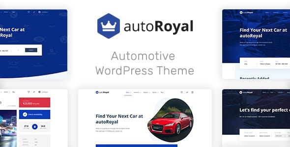 autoRoyal Automotive WordPress Theme