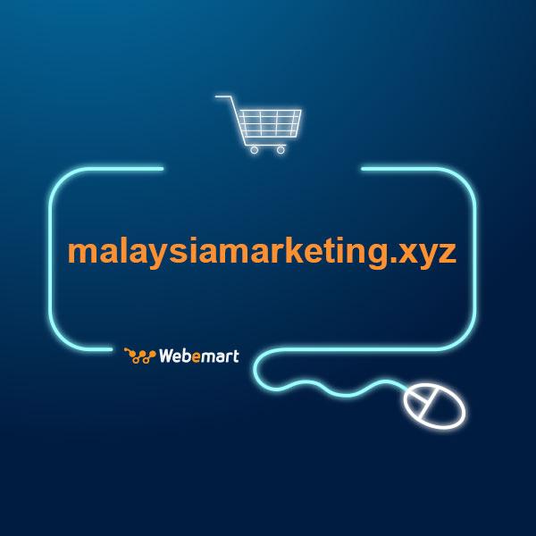 Malaysia Marketing Website for Sale