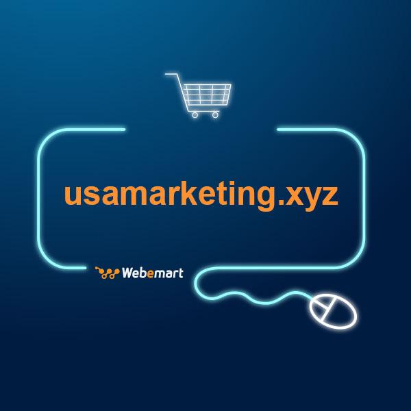 USA Marketing Website for Sale